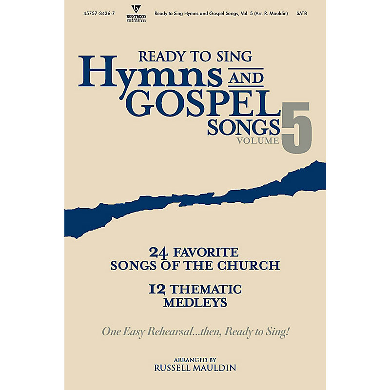 Ready to Sing Hymns and Gospel Songs, Volume 5 - Bass Rehearsal CD
