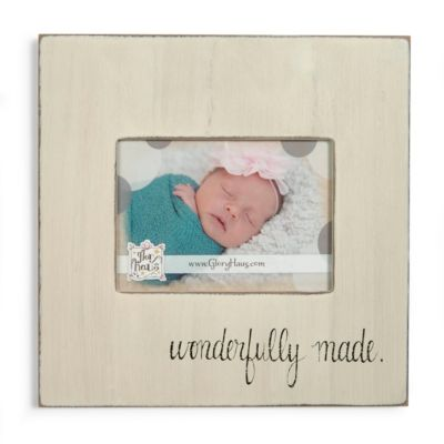 Christian gifts for babies lifeway wonderfully made picture frame negle Gallery