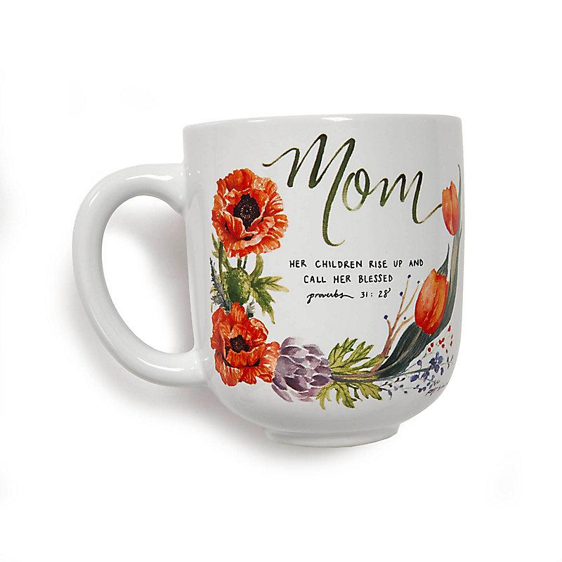 Ceramic Mom Mug (Prov. 31:28)