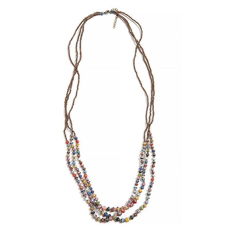 Dreamer Necklace, Multi-Color