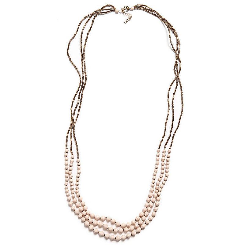 Dreamer Necklace, Cream