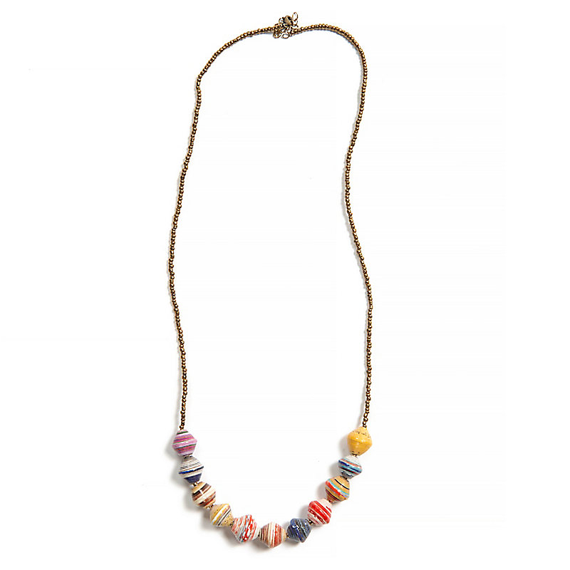 Romantic Necklace, Multi-Color