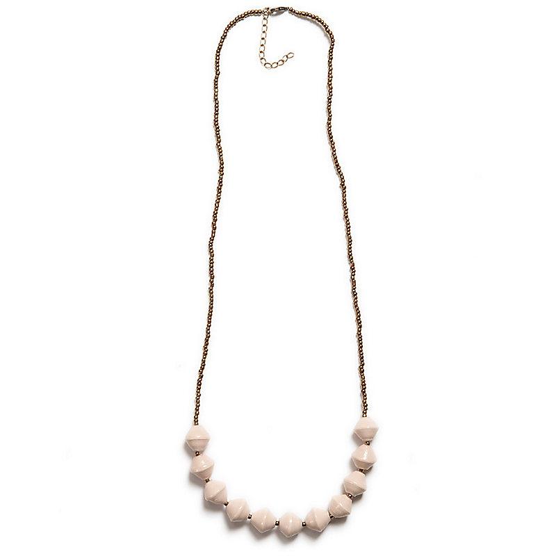 Romantic Necklace, Cream