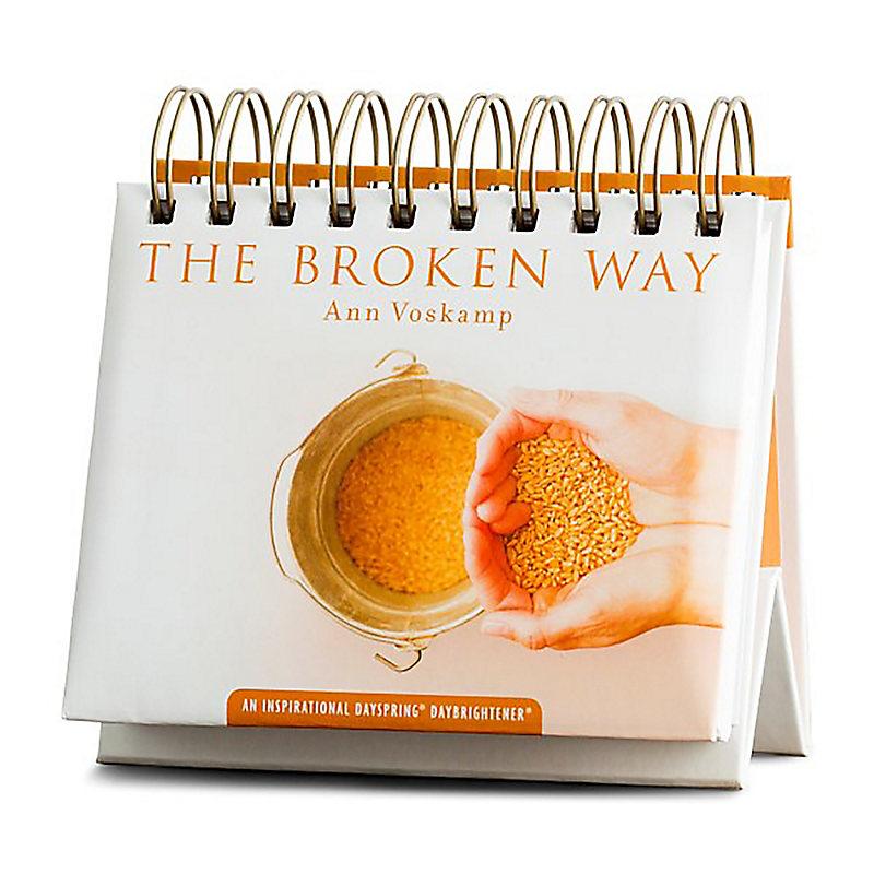 Orange Ann Voskamp Perpetual Calendar 70941 The Broken Way Dayspring