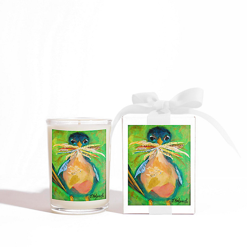 Momma Bird Jar Candle, 8 oz.