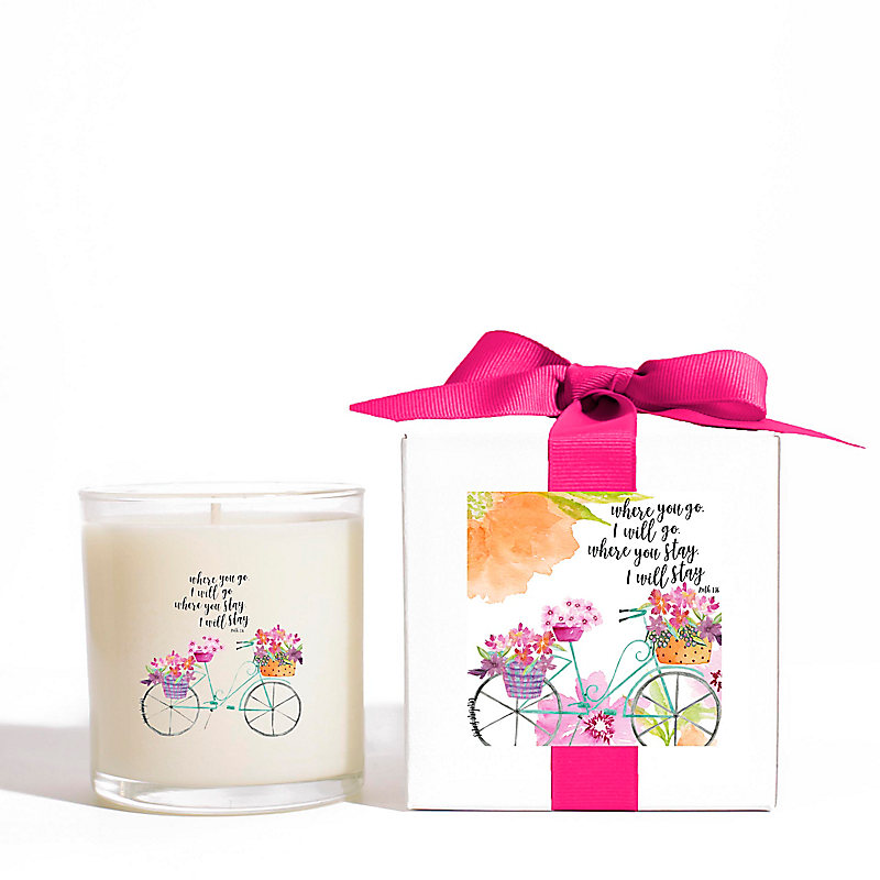 """Where You Go"" Candle, 11 oz."