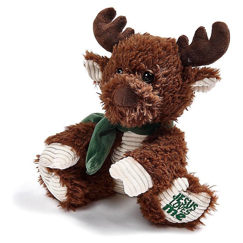 Jesus Loves Me Moose Plush Toy Lifeway
