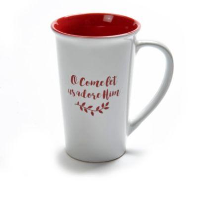 adore him christmas mug