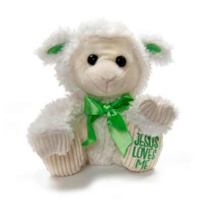 Jesus Loves Me Lamb Plush