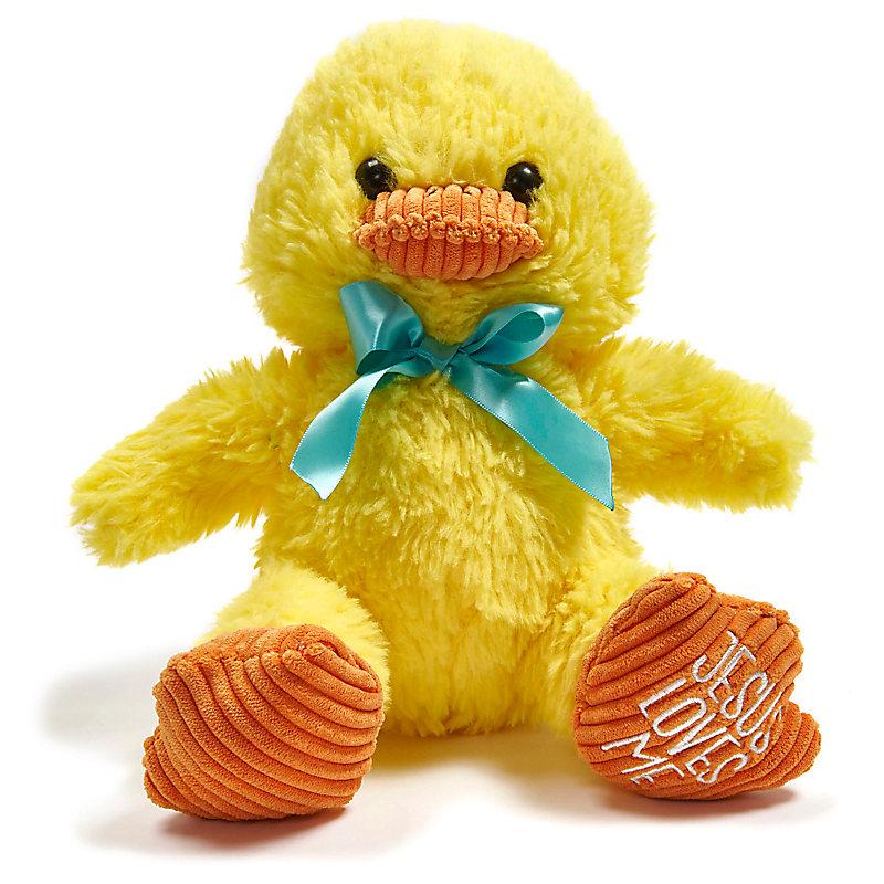 """Jesus Loves Me"" Chick Plush"