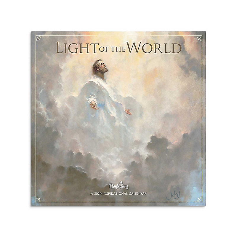 Light The World 2020 Calendar 2020 Light of the World Premium Wall Calendar   LifeWay