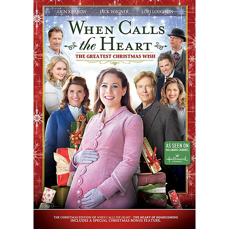 A Christmas Wish.When Calls The Heart The Greatest Christmas Wish Dvd