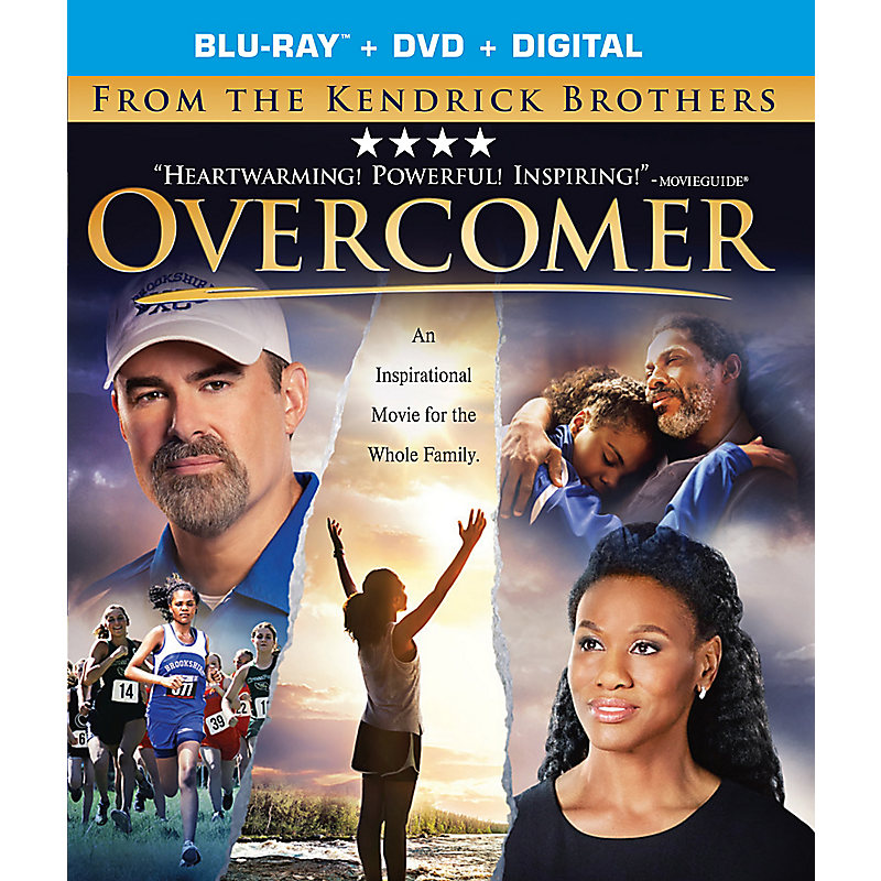Overcomer Blu-Ray/DVD Combo
