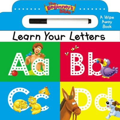 The Beginner's Bible Learn Your Letters - Lifeway