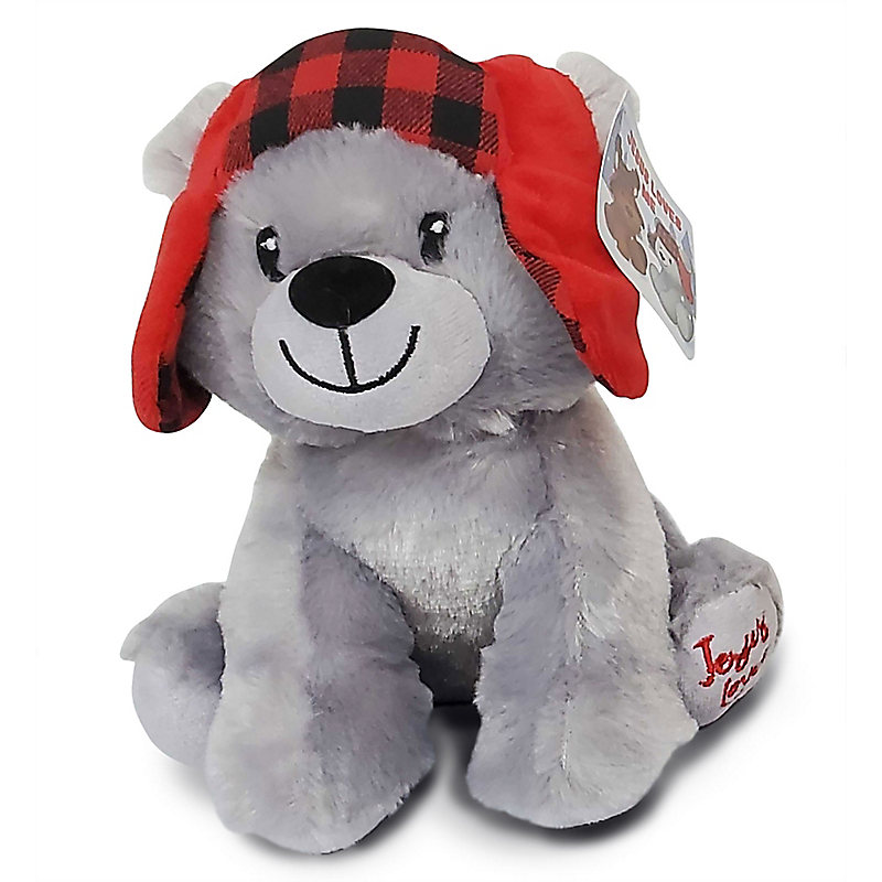 Christmas Bear Plush Toy