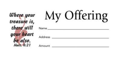 Offering Envelopes   Tithes Envelopes   Church Offering Envelopes