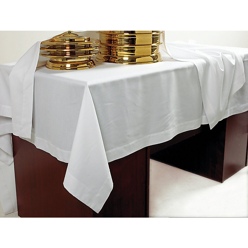 sc 1 st  LifeWay & Communion Table Cover - IVORY Linen - LifeWay