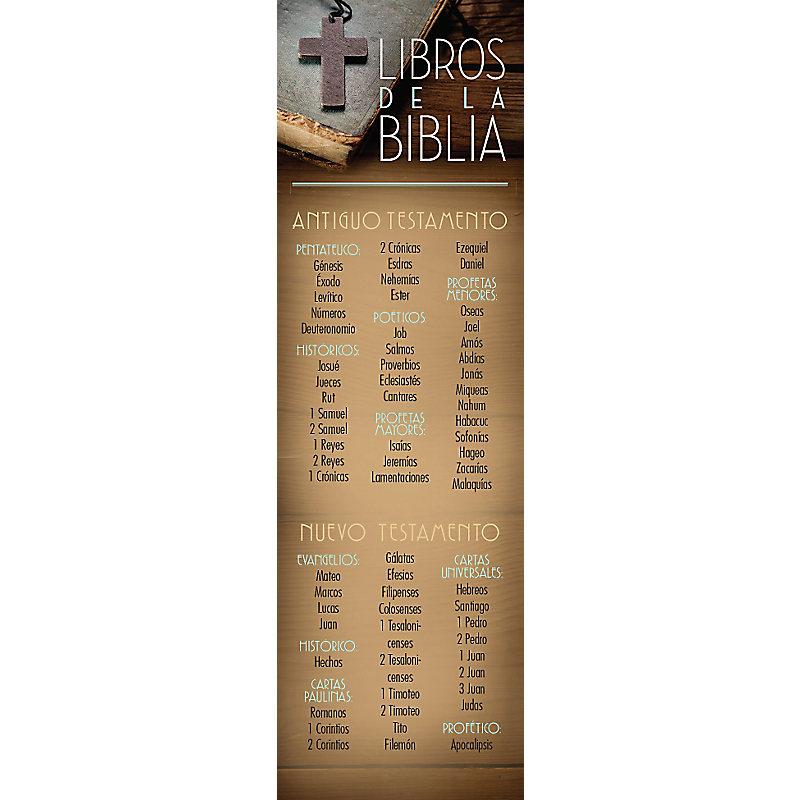 Libros de la Biblia - Bookmark (Pkg 25) General Worship