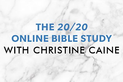 2020 Online Bible Study by Christine Caine