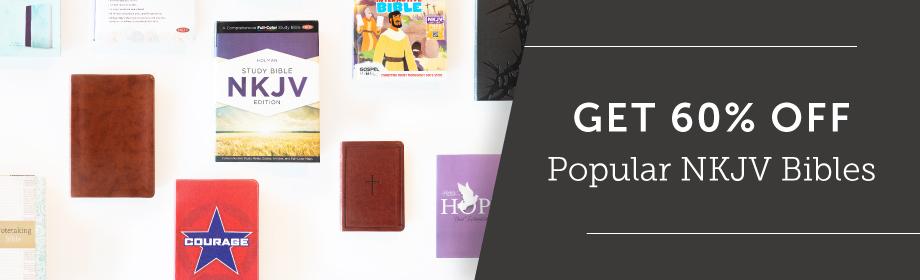 60% Off Popular Holman NKJV Bibles