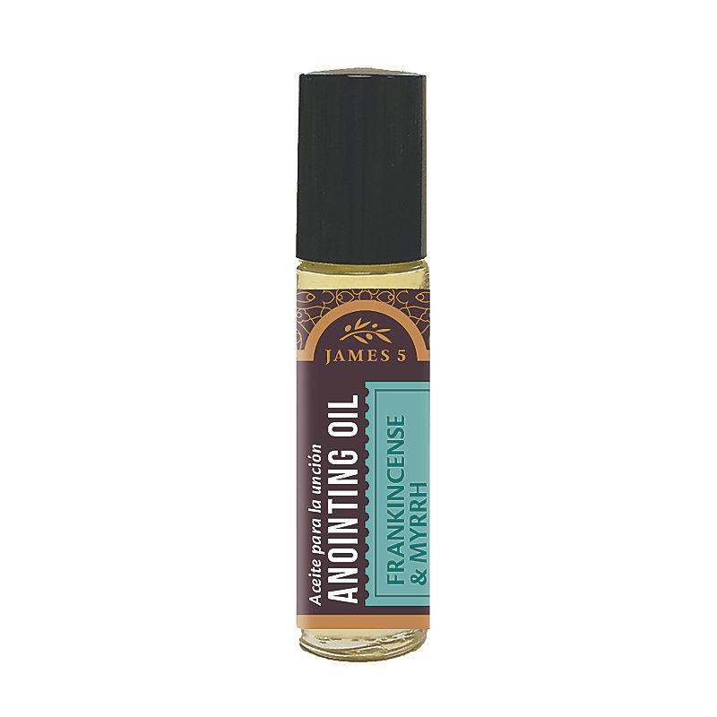 Anointing Oil - Frankincense and Myrrh (1/3 oz) Roll On