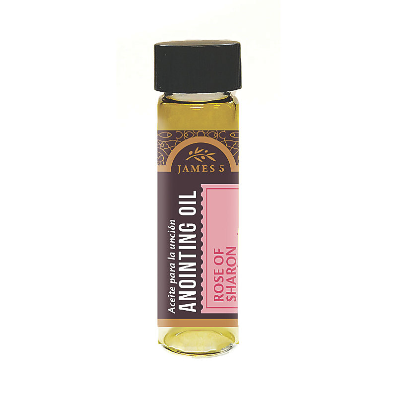 Anointing Oil - Rose of Sharon (1/2 oz)
