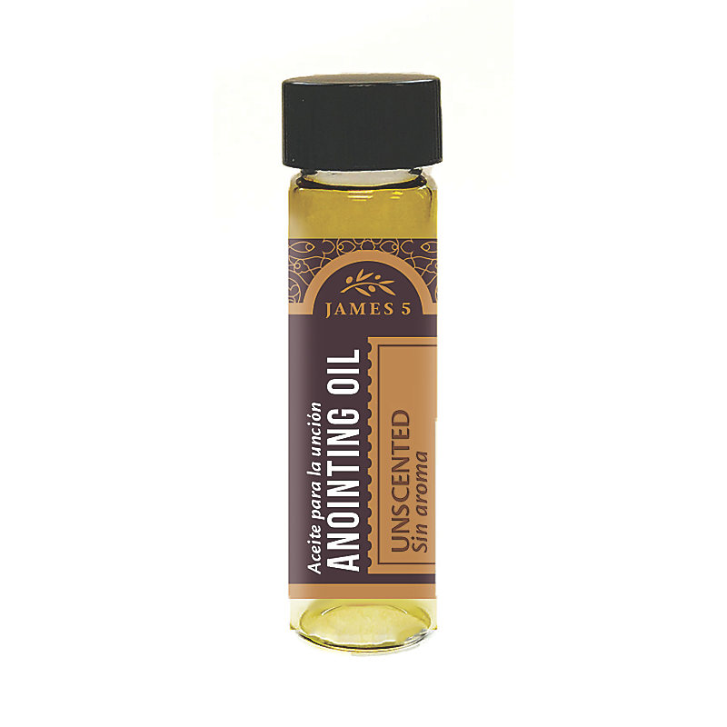 Anointing Oil - Unscented (1/2 oz)