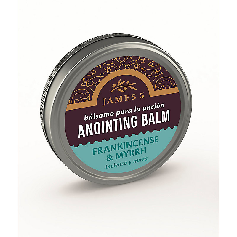 Anointing Oil - Frankincense and Myrrh (1/2 oz. Balm)