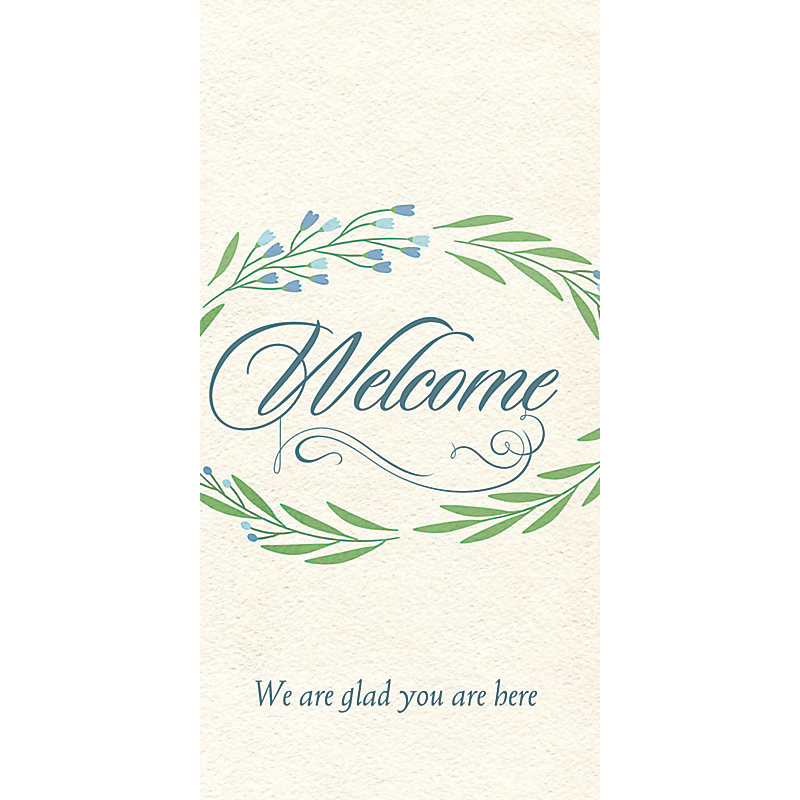 Welcome We Are Glad You Are Here - Guest Card (PKG 50)