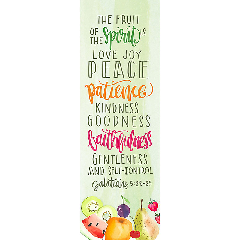 Fruit of the Spirit Adult - Bookmark (Pkg 25) Inspiration