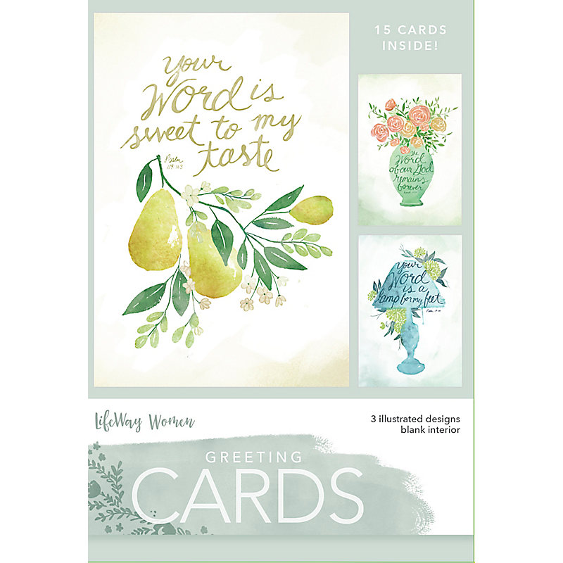 Boxed Greeting Cards Your Word Lifeway