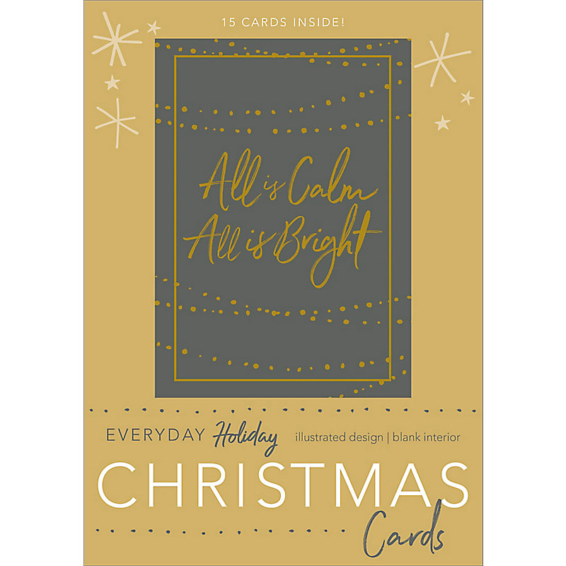 All is Calm, All is Bright- Christmas Boxed Cards