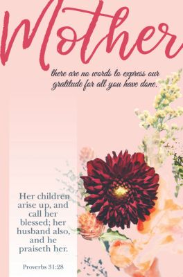 Mother Call Her Blessed Bulletin Pkg 100 S Day Lifeway
