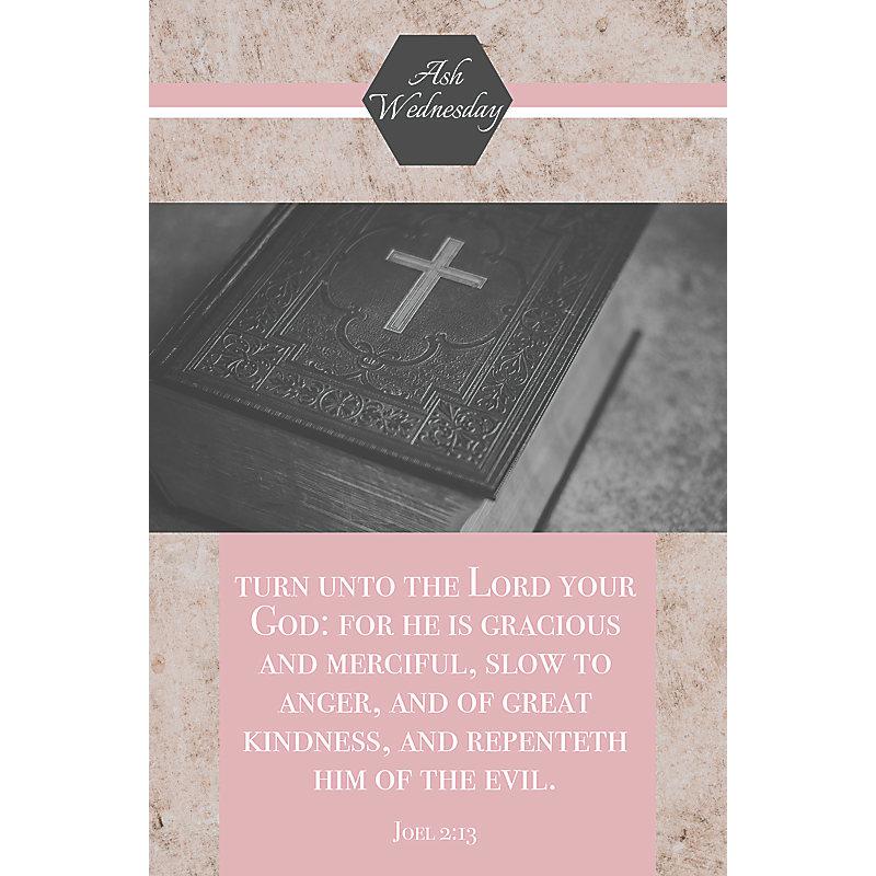 Turn unto Your Lord Bulletin (Pkg 100) Ash Wednesday