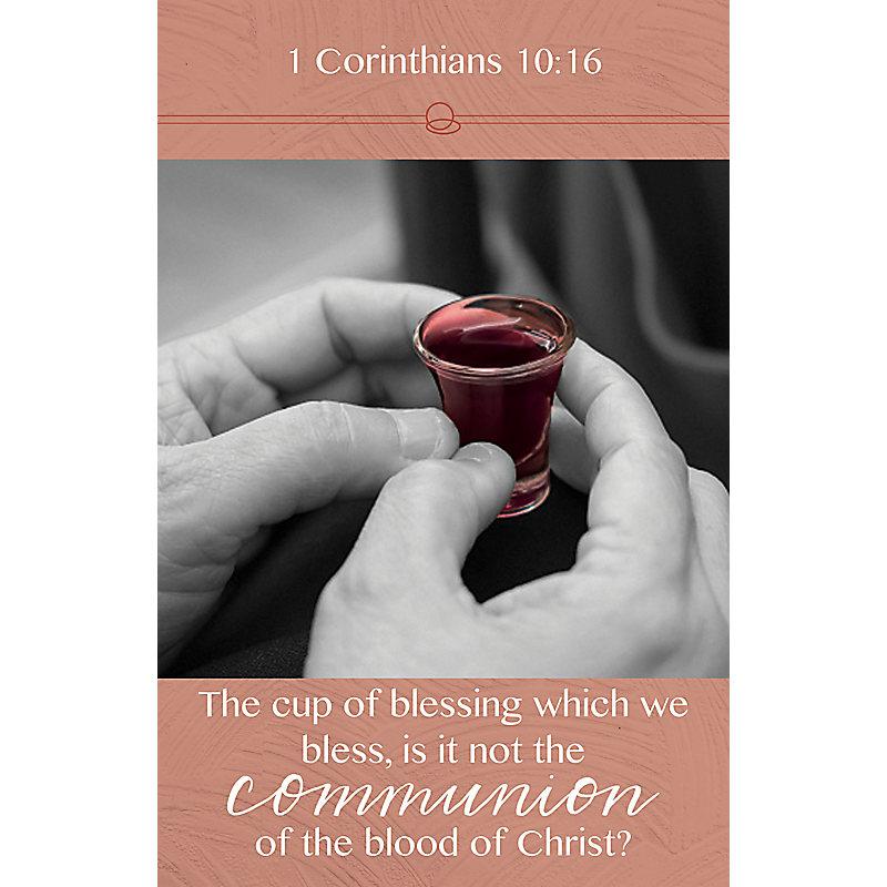 The Communion   Bulletin (Pkg 100) Communion