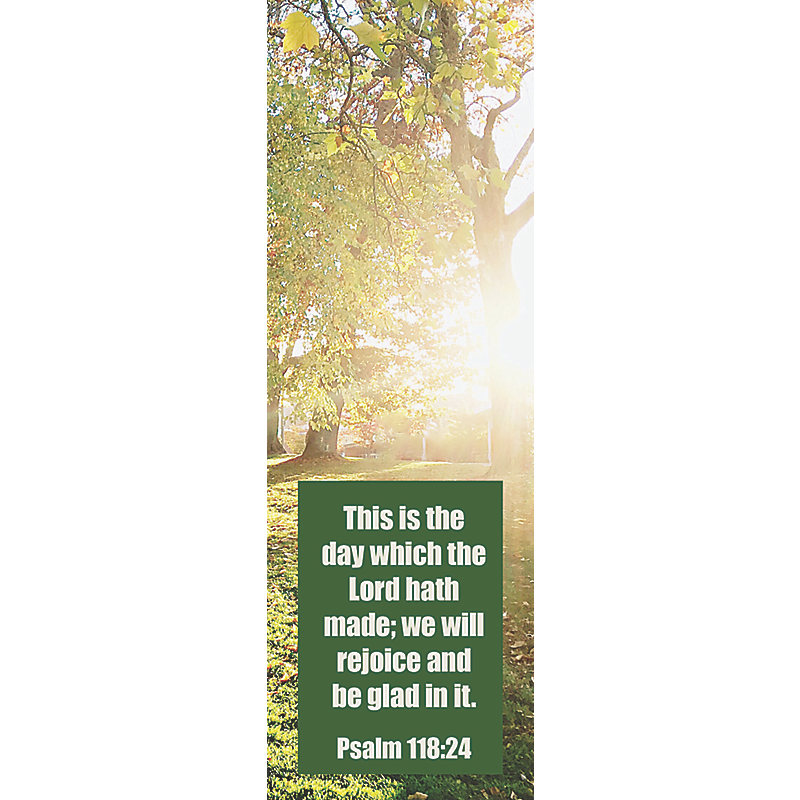 This Is The Day  Bookmark (Pkg 25) Inspirational