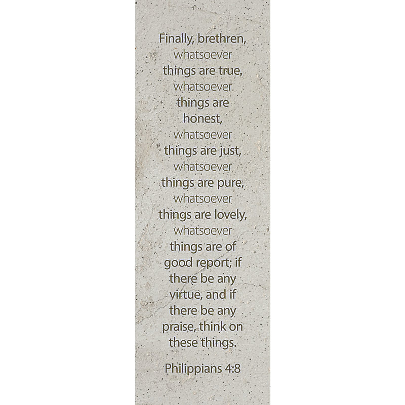 Whatsoever  Bookmark (Pkg 25) Inspirational