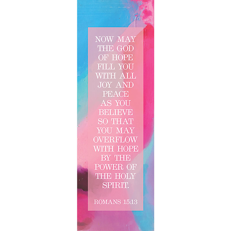 Overflow With Hope  Bookmark (Pkg 25) Inspirational