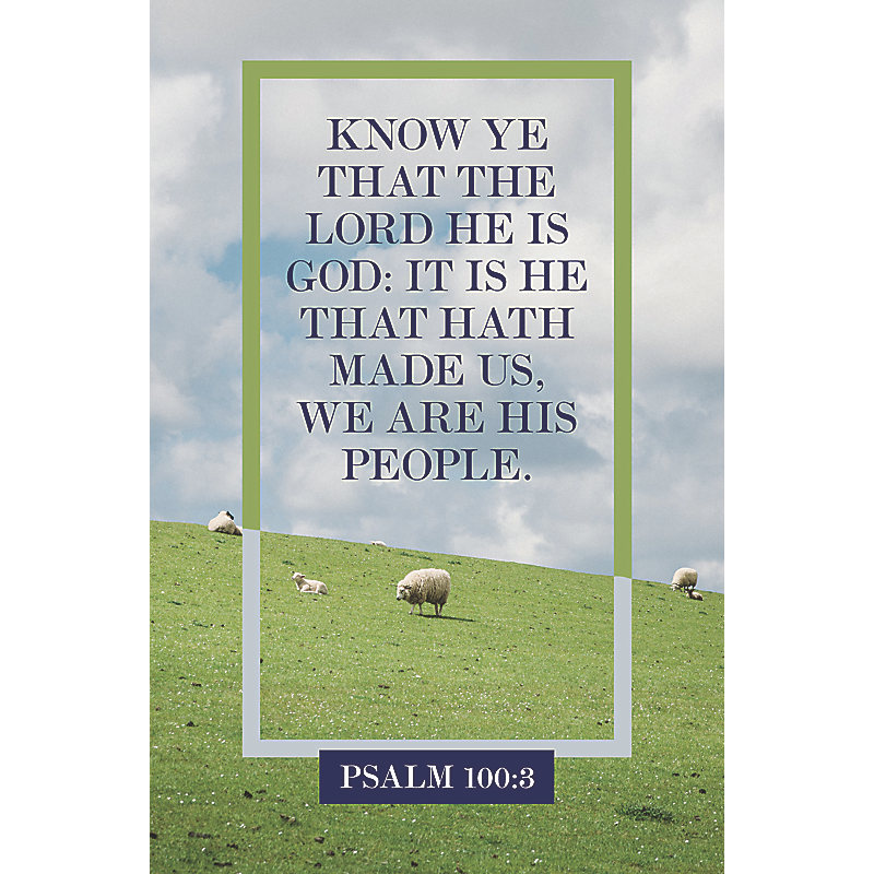 We Are His People  Bulletin (Pkg 100) General Worship