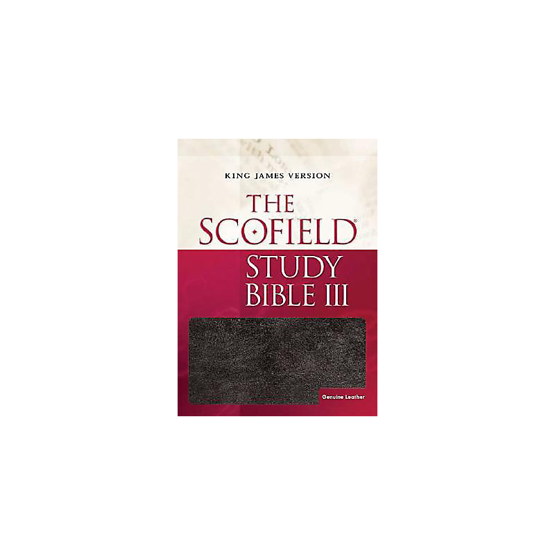 The Scofield® Study Bible III, KJV