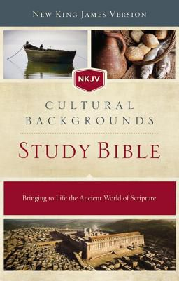 nkjv cultural backgrounds study bible hardcover red letter edition