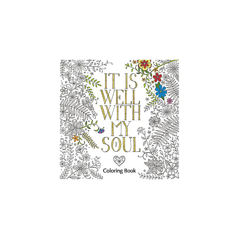 It Is Well With My Soul Coloring Book Lifeway