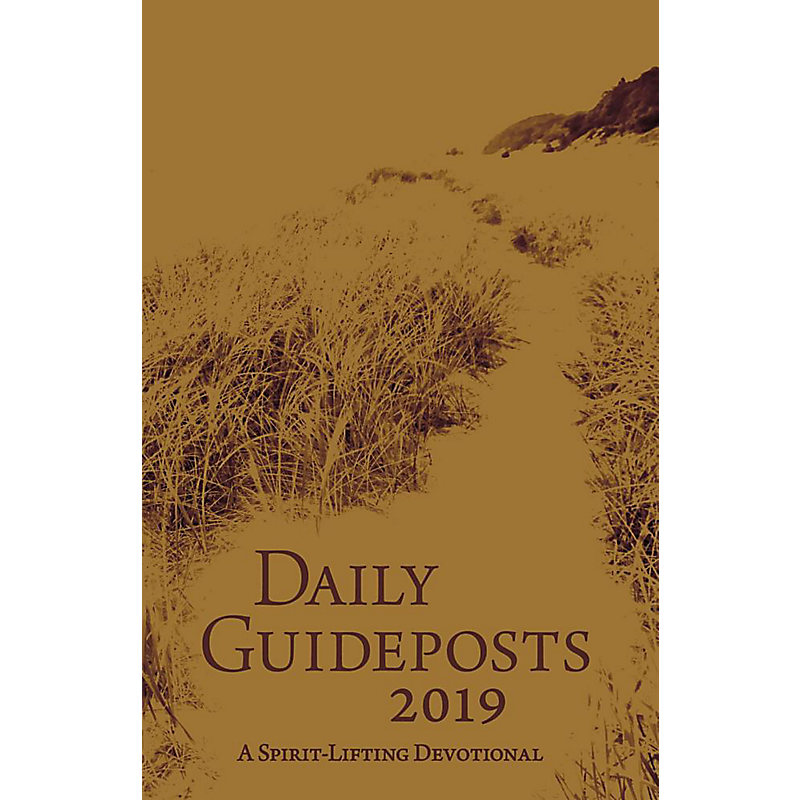 Daily Guideposts 2019 Leather Edition