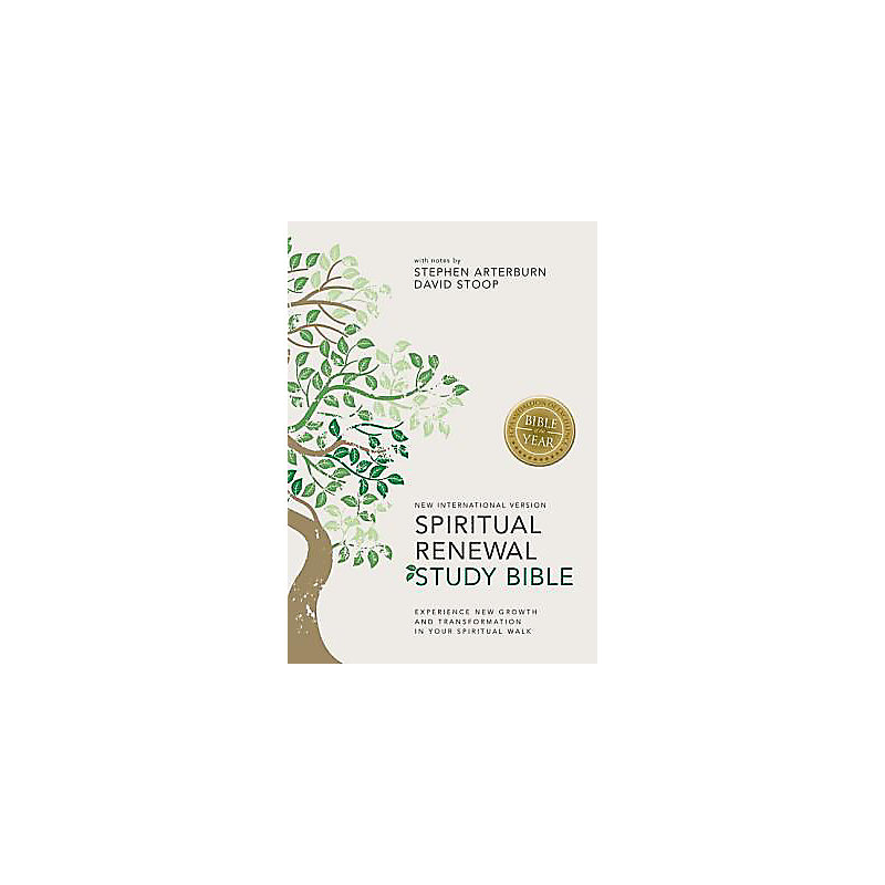 NIV, Spiritual Renewal Study Bible, Hardcover