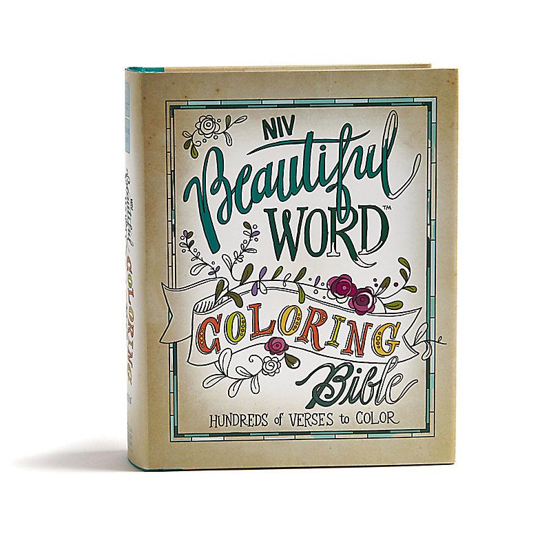 NIV, Beautiful Word Coloring Bible, Hardcover - LifeWay