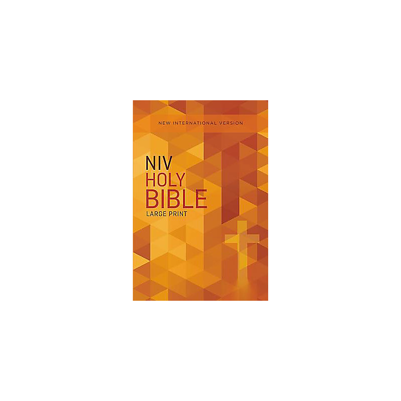 NIV, Outreach Bible, Large Print, Paperback
