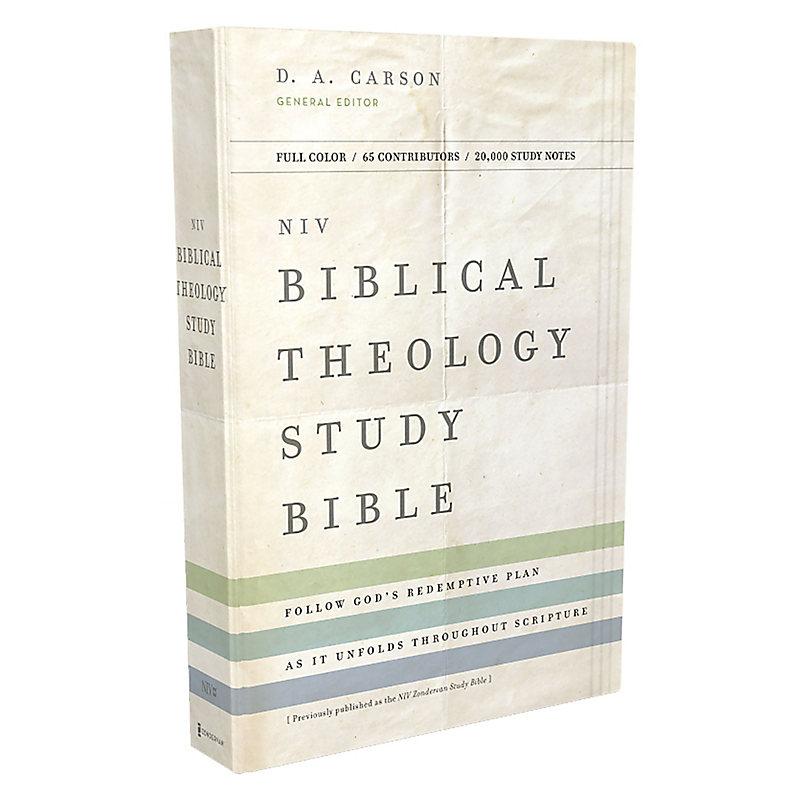 NIV, Biblical Theology Study Bible, Hardcover, Comfort Print