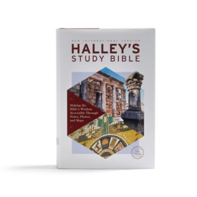 NIV, Halley's Study Bible, Hardcover, Red Letter Edition