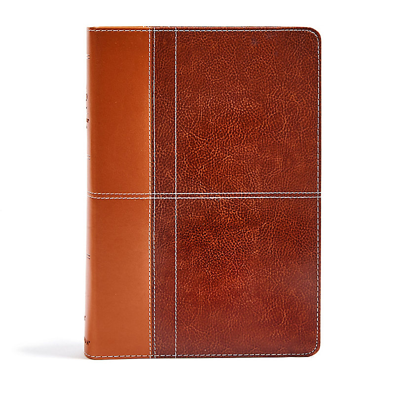 NIV Life Application Study Bible, Third Edition, Leathersoft, Brown