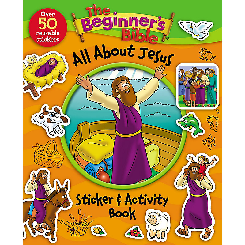 The Beginner's Bible: All About Jesus Sticker and Activity Book